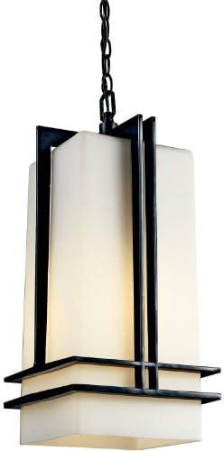 Kichler 49205BK, Tremillo Aluminum Outdoor Ceiling Lighting, 100 Total Watts, Black Painted