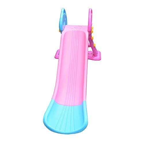 Toytexx Safety layful Big Slide Set Children Slide Ladder-Pink Color by Toytexx (Image #1)