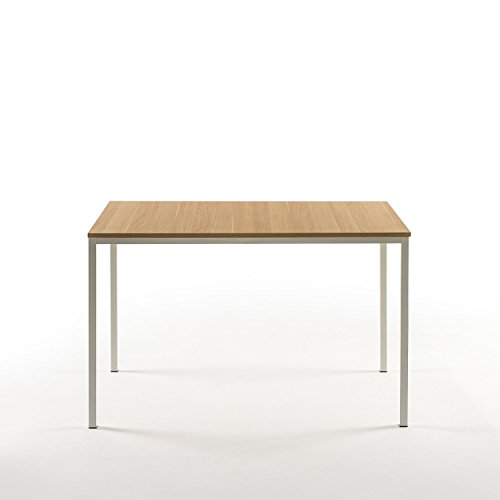 Zinus Dessa Modern Studio Collection Soho Dining Table / Office Desk / Computer Desk / Table Only, White by Zinus (Image #4)
