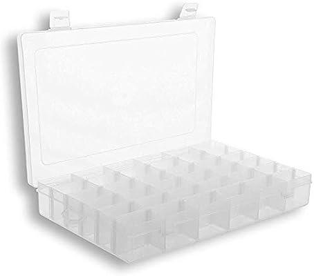 Caja organizadora de plástico para almacenamiento de cuentas ...