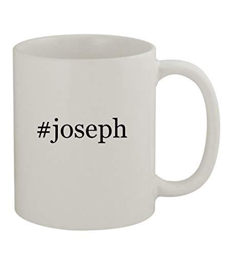 - #joseph - 11oz Sturdy Hashtag Ceramic Coffee Cup Mug, White