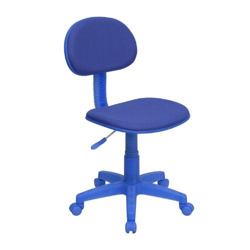 Blue Fabric Ergonomic Task Chair 698