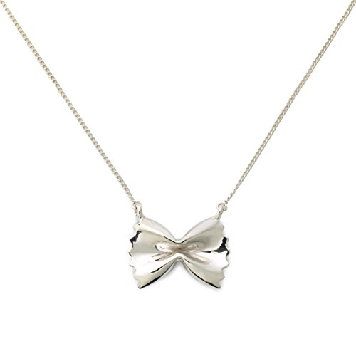 Farfalle Pasta Necklace, Delicacies Jewelry Foodie
