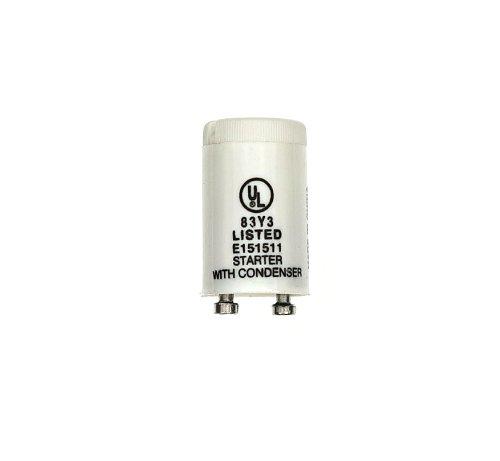 Leviton 13894 Fluorescent Starter, 4, 6 and 8W, FS-5 (Levitron Starter)