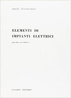 Book Elementi di impianti elettrici