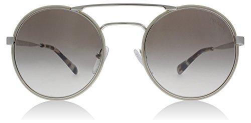 (Prada PR51SS UFH4O0 Silver/Opal / Havana PR51SS Round Sunglasses Lens Categor)