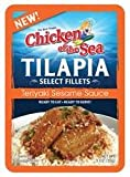 Chicken of the Sea Tilapia Select Fillets - Teriyaki Seasame Sauce 3 oz. (Pack of 2)