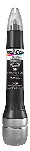 Dupli-Color EAGM05920 Scratch Fix All-in-1 Exact-Match Automotive Touch-Up Paint, Black 41 WA 8555 GBA.25 Ounce, 2.5d-1 Fluid_Ounces