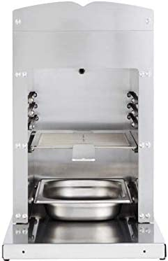 Dangrill Power Burner Pro 88171 - Barbacoa de gas (2 quemadores de cerámica, 800 °, 8400 W)