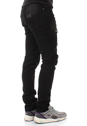 Just Junkies Jeans Men SICKO Black Holes