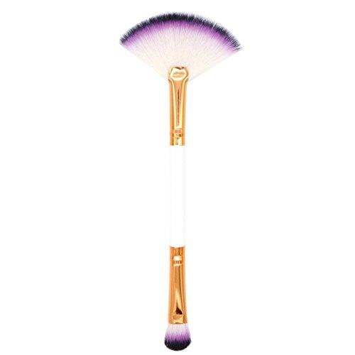 OTTATAT 2019 Popular Promotion 1PCS Make Up Foundation Eyebrow Eyeliner Blush Cosmetic Concealer Brushes eyelash magic (silver+black) holder+makeup cleaner artisan's easel elite collection -