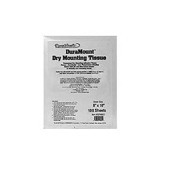 (Duramount Dry Mount Tissue 8x10 100 sheet )