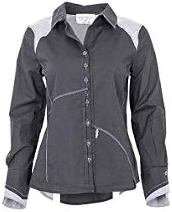 Elisa Cabaletti - Camisa Negra Negra EJW191042401 Negro XL: Amazon.es: Ropa y accesorios