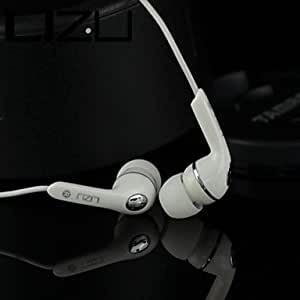 Fashion Overlength 2 M In-Ear Natural Stereo Earphones for Samsung iPhone PC , White