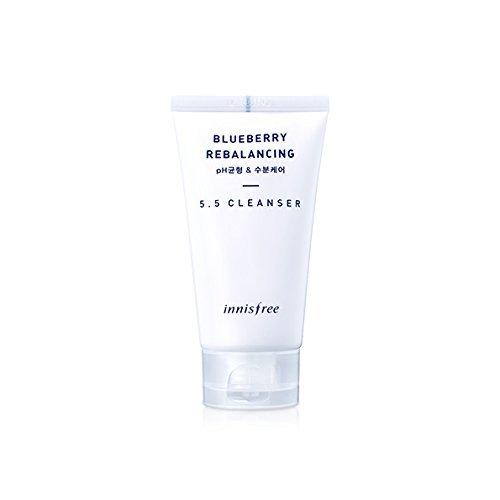 [Innisfree Blueberry Rebalancing 5.5 Cleanser 100ml] (Balance Moisturizing Cleanser)