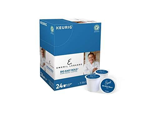 Emeril Lagasse Big Easy Bold Dark Roast Coffee K-cups 24 ...