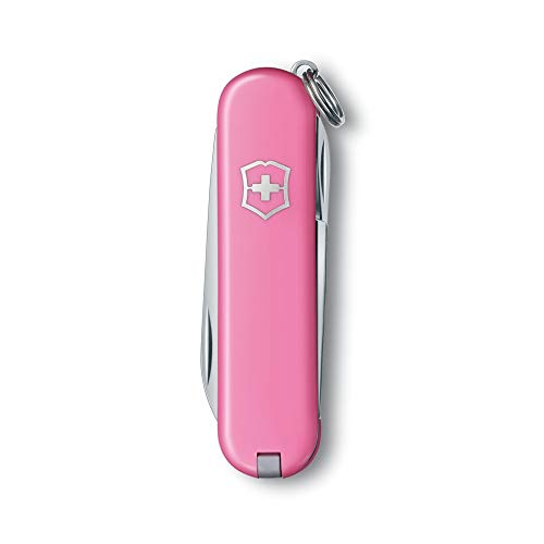 Victorinox Classic Pink - Swiss Army Pocket Knife - Length 58 Mm - 7 Tools ()