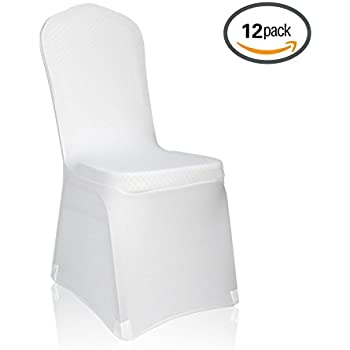 Amazon Com White Wedding Banquet Chair Cover Round Top
