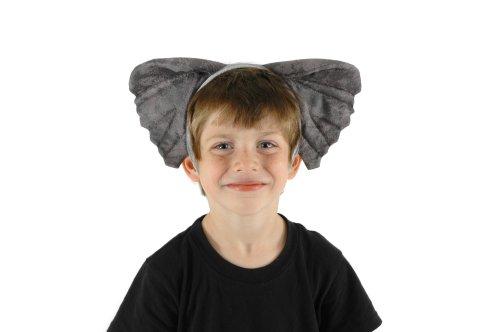 [elope Elephant Ears and Tail Set] (Elephant Headband)