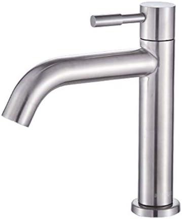 guomao 浴室の蛇口シングルハンドルバニティシンク蛇口ステンレスさびない