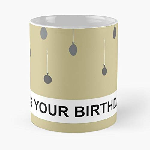 The Office Nbc Jim Halpert Dwight Schrute - Best Gift Coffee Mugs Michael Scott Andy Bernard Kevin Malone Typography It Is Your Birthday Dunder