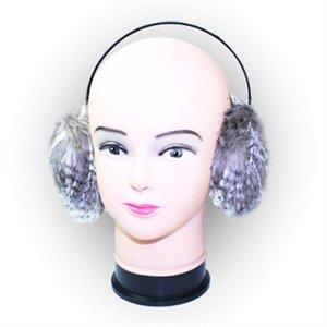 Fashion Ear Muffs By Outer Rebel- Light Brown Fur