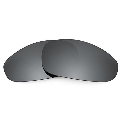 Revant Polarized Replacement Lenses for Oakley Juliet Black Chrome - Juliet Oakleys