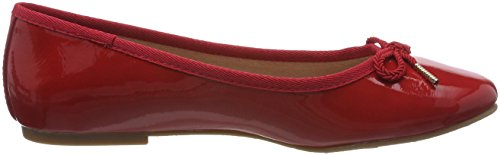 22123 Femme Patent Tamaris Rouge Ballerines chili 4xEwSY