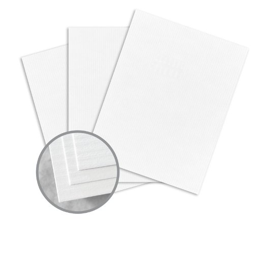 (CLASSIC COLUMNS Solar White Paper - 8 1/2 x 11 in 24 lb Writing Embossed Watermarked 500 per Ream)