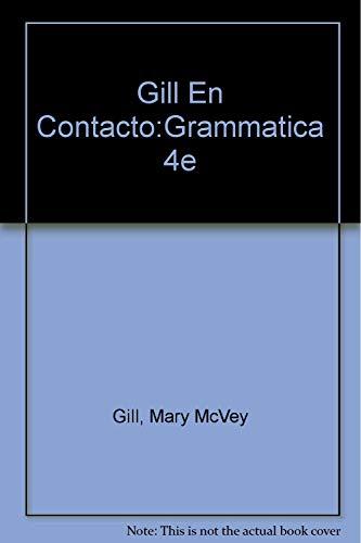 En Contacto, Gramatica En Accion/Audio Cassette (English and Spanish Edition)