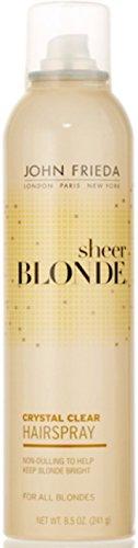 John Frieda sheer blonde Crystal Clear Shape & - John Frieda Sheer Blond Hairspray