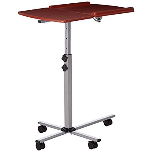 Charmant Flash Furniture Angle And Height Adjustable Mobile Laptop Computer Table  With Cherry Top