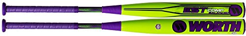 Pitch Bat Est Softball Slow - Worth EST Comp 13.5 Inch Balanced ASA WESTBA Slowpitch Softball Bat