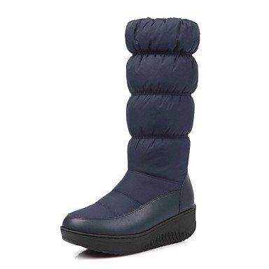 De donna-stivaletti-tempo Libero/Casual/planeta y festa-creepers/zapatos de cuna/zapatos y bolsos abbinate-plateau-felpato/, azul, us8.5 / eu39 / uk6.5 / cn40 azul