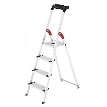 Hailo 0005259 Modelo XXL Escalera de Seguridad, Fabricada en ...