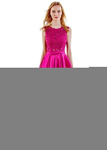 Fuschia Homecoming Dresses - 4