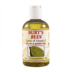 Burt's Bees Bath and Body Oil Lemon and Vitamin E - 4 fl oz