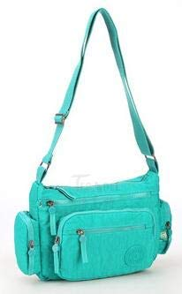 Fashion Women Messenger Bags Crossbody Bag Nylon Waterproof Female Shoulder Bag Designer Ladies Handbags 954 Green
