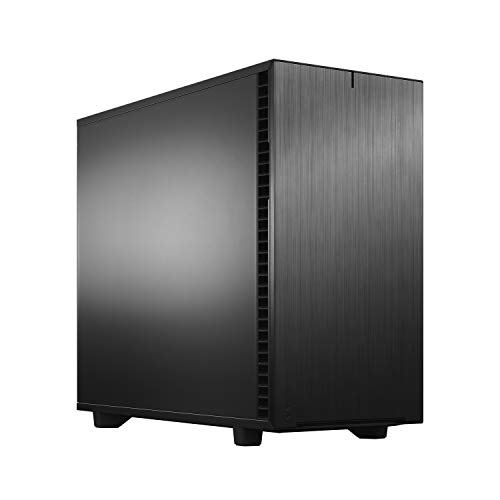 Fractal Design Define 7 Black & White Brushed Aluminum/Steel E-ATX Silent Modular Mid Tower Computer Case