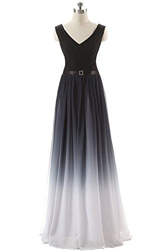 Plaer Mujer Para Vestido Noche A1 rHxtqrRZ
