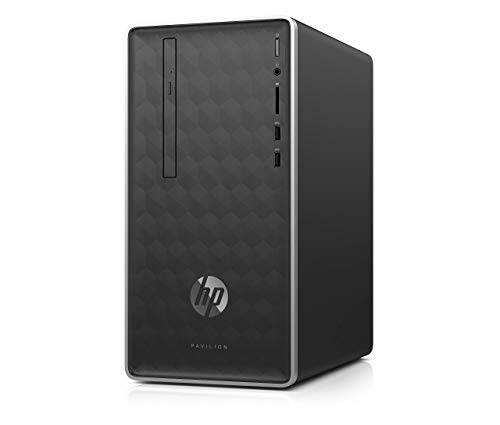 HP Pavilion Business Desktop PC 590-p0033w Intel Core i3-8100 (up to 3.60 GHz), 4GB DDR4-2400 SDRAM, 1TB 7200 RPM HDD…