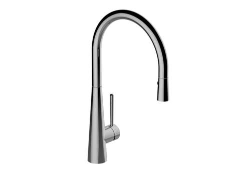 Graff G-4880-LM52-OB - Conical Pull-Down Kitchen Faucet - Olive Bronze Finish