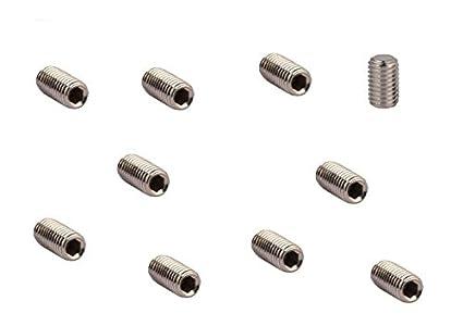 3 mm tornillo prisionero de presión sin (, 10 unidades) M 3 ...
