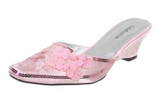 Rose Sandales JohnFashion Fashion Femme Pour John qRP1w