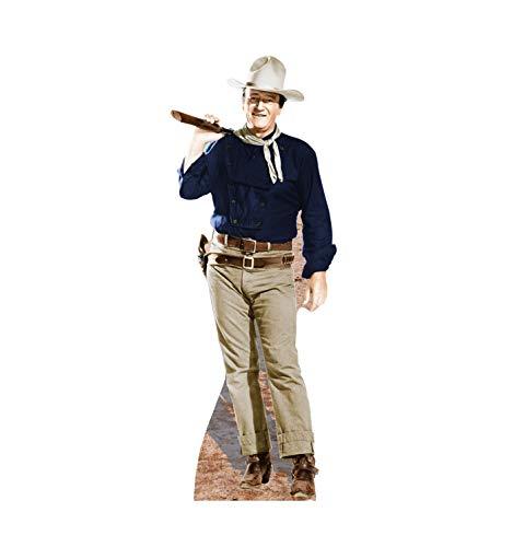 (Advanced Graphics John Wayne Rifle on Shoulder Life Size Cardboard Cutout)