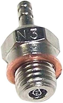 Kuinayouyi 2set N3 //N4 Hot Glow Plug Spark for HSP 70117 1//10 1//8 RC Buggy Truck Vertex SH Nitro Engine Parts