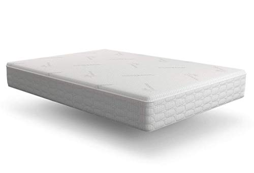 Snuggle-Pedic Mattress That Breathes - Patented Airflow Transfer System, Kool-Flow Ultra-Luxury Bamboo Cover, USA Orthopedic Flex-Support Memory Foam, 4-Month Sleep Trial & 20-Year Warranty (Queen)