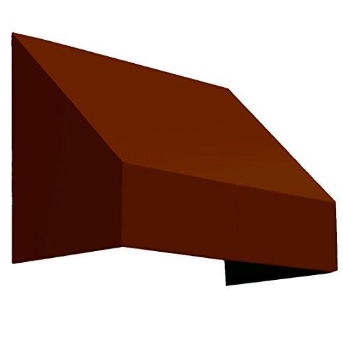 Awntech 4-Feet New Yorker Window/Entry Awning, 44-Inch Height by 48-Inch Diameter, Terra Cotta
