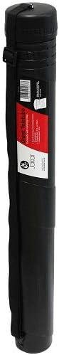 Tubo de pl/ástico r/ígido para transportar documentos Jakar 7304 color negro