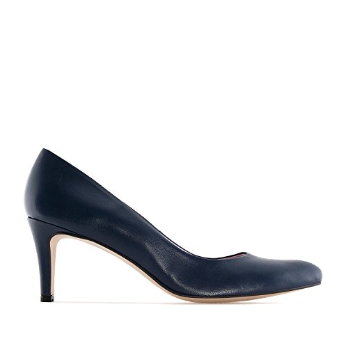 Andres Machado.stilettos In Pelle.made In Spain.womens Petite & Large Szs: Us Da 2 A 5 -us 10.5 A 13 Navy Leather